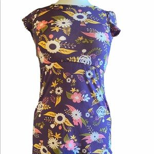 LuLaroe Girls sz 8 Flower Dress